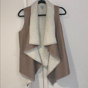 Fuzzy Vest from Tobi